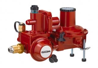 Регулятор давления газа GOK BHK 052, 20кг/ч, 37 мбар, ПЗК, ПСК
