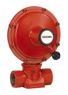 Регулятор давления газа GOK NDR0515, 100кг/ч, 37 мбар, ПСК