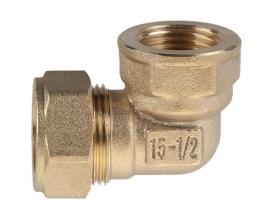 Отвод Kofulso BL15 для воды ВР 15×½″