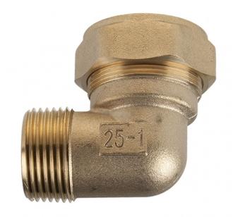 Отвод Kofulso BLС25 для воды НР 25×1″