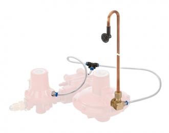 Комплект трубок для регуляторов давления газа