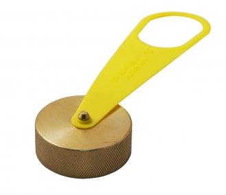 Крышка заправочного клапана SRG латунная
