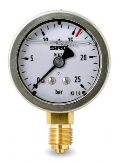 Манометр SRG, G ¼″, 0…25 бар