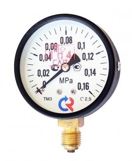 Манометр ТМ-310Р.00 (0–0,16 MPa)
