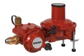 Регулятор давления газа GOK BHK 052, 20кг/ч, 37 мбар, ПСК