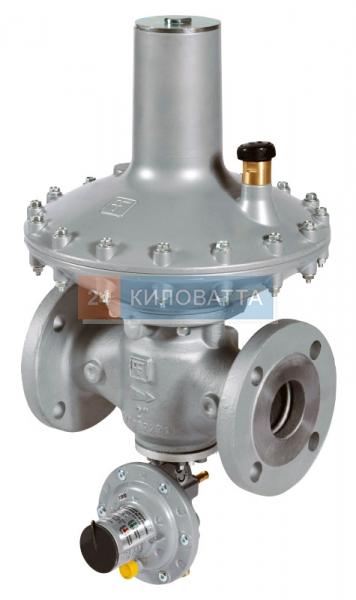 Регулятор DIVAL-500G 1 1/2 BP (18-25mbar) с ПЗК LA (чугун)