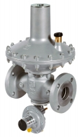 Регулятор давления газа Pietro Fiorentini Dival600TR, DN 25, 2–4.4 бар, ПЗК LA