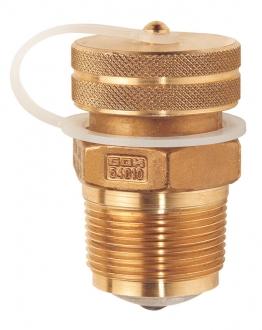 Заправочный клапан GOK FV с латунной крышкой